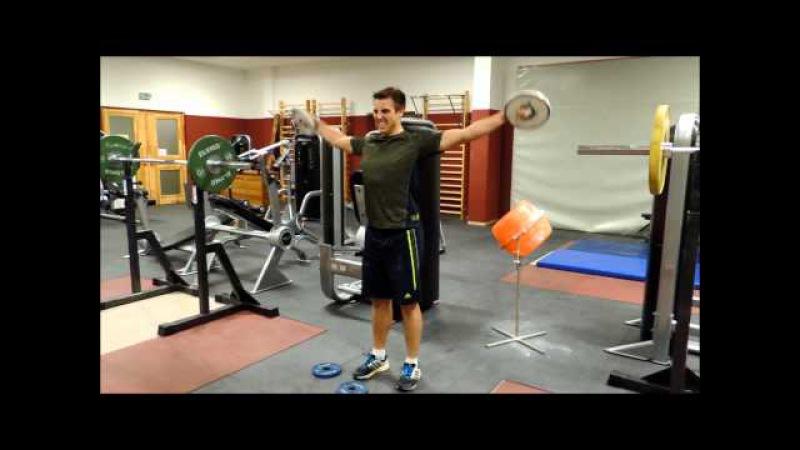 Kim Amb Cirkel träning, Javelin,