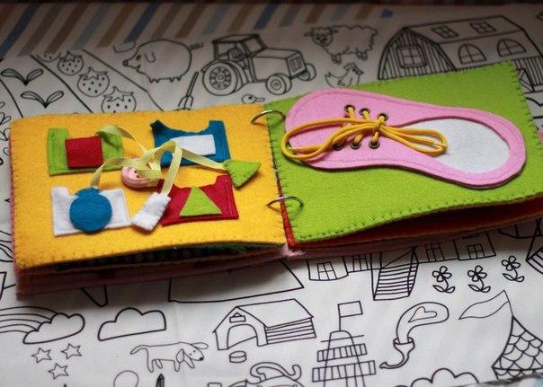 Маленькие книжки для детей своими руками 58