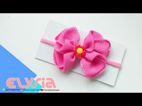 Laço Pattie 🎀 Pattie Ribbon Bow 🎀 DIY by Elysia Handmade
