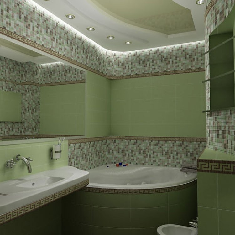 Дизайн зеркал в ванной
