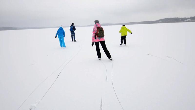 Прокатились по всему Сугомаку на коньках, 18 ноября 2018 года