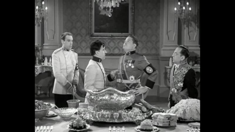 Дипломатический ужин двух диктаторов Отрывок из кинофильма Великий диктатор