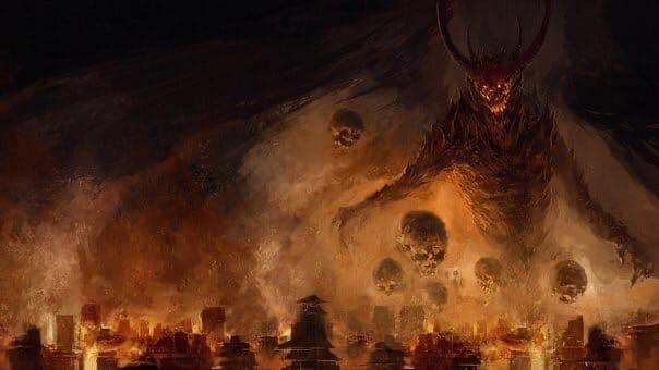 11 страшных злых монстров из мировых религий Любая религия имеет в своём арсенале набор притч, объясняющих основные положения и нормы правильного, с точки зрения этой религии, поведения. И,