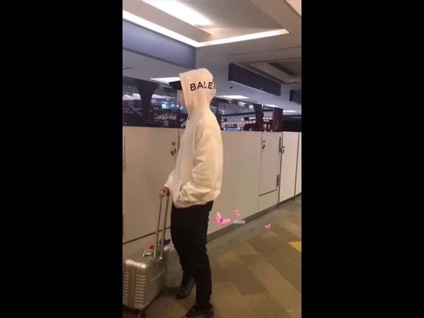 181029 Donghae Eunhyuk♡FUK AirPort