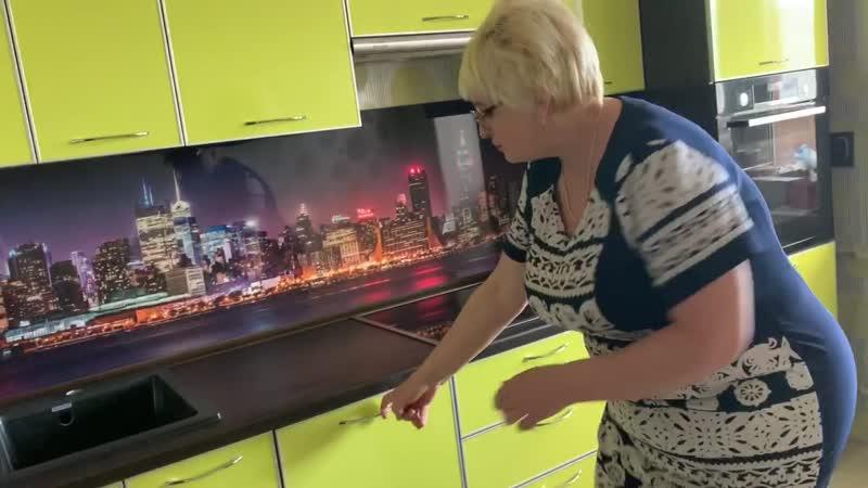 Отзыв от нашего клиента после установки кухонного гарнитура на ул Фурманова г Рыбинск