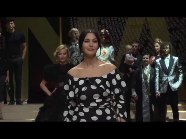 Monica Bellucci, Eva Herzigova and Carla Bruni for Dolce Gabbana | S/S 2019
