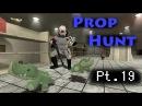 Minx's Moment! | Prop Hunt (Gmod): Pt.19 | (Ft. Minx, Dave, Utorak, Kiwo)