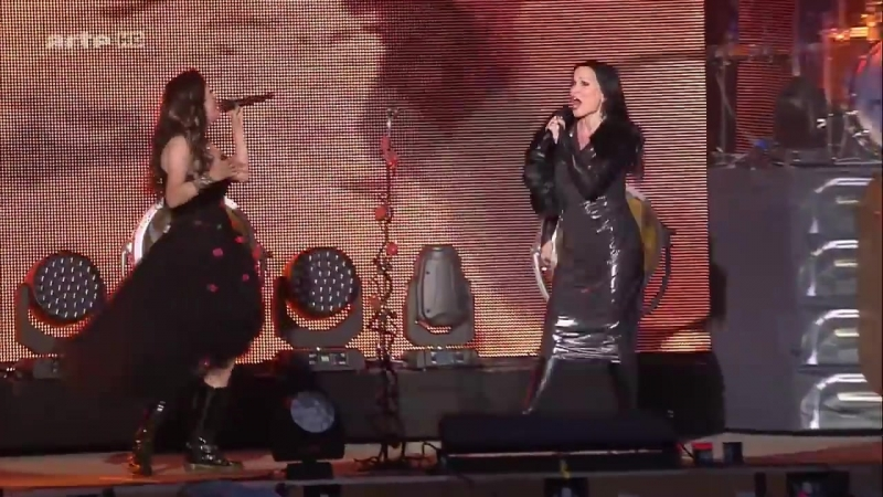 Within Temptation Ft. Tarja - Paradise Live at Hellfest Festival (2016)
