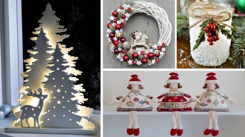 DIY Christmas Decor! Easy Fast DIY Christmas Winter Ideas for Teenagers 18