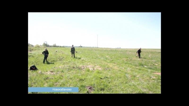 День за днем. 10-классники района проходят курс молодого бойца
