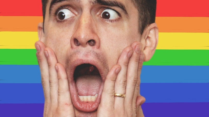 Panic! at the disco is very heterosexual