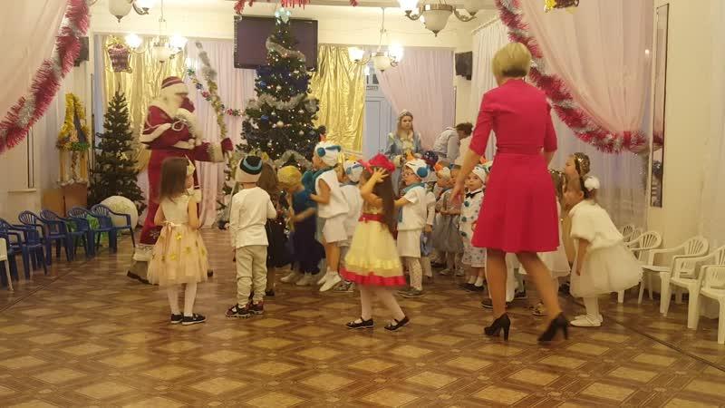 новый год в дедском саду