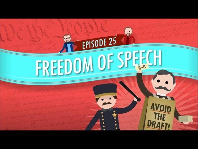 Freedom of Speech: Crash Course Government and Politics 25