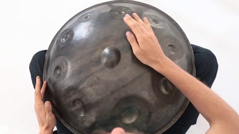 Handpan Lesson by Pasha Aeon, 8 beat rhythm pattern, OMana Handpan