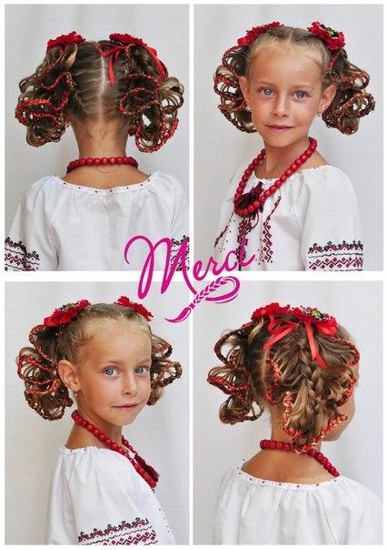 Мастер класс детские причёски новогодние