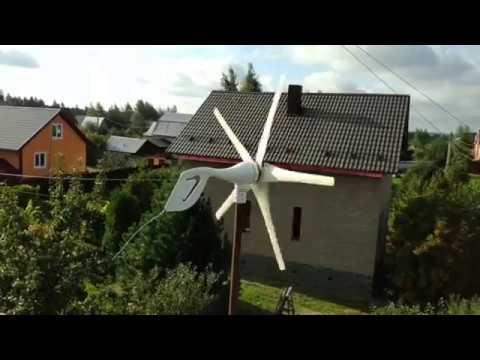 Ветряки 2. Работа ветрогенераторов.