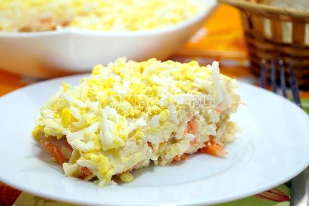 Легкий салат «Россо»