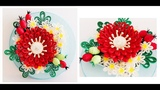 Paper Quilling Flower Decoration Learning Video 9 Paper Quilling Art Paper Flower