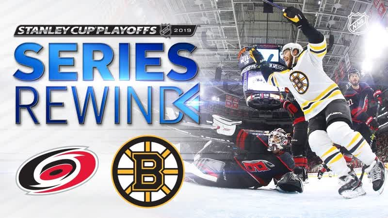 SERIES REWIND Bruins sweep Hurricanes to advance to Stanley Cup Final