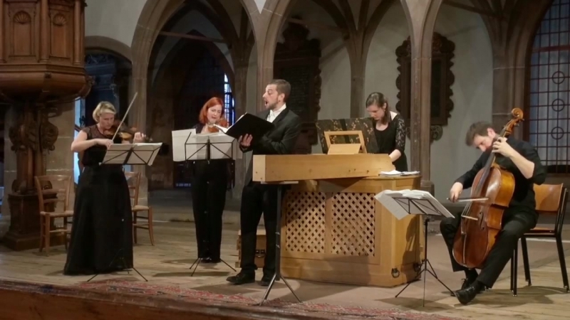 Nikolaus Bruhns Jauchzet dem Herrn alle Welt Psalm 100 Ensemble Continuum