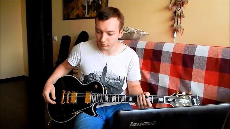 Электрогитара из Китая (Aliexpress guitar unboxing and sound check)