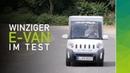 Der VXT e-Van XL im nextmove Nutzfahrzeuge Test