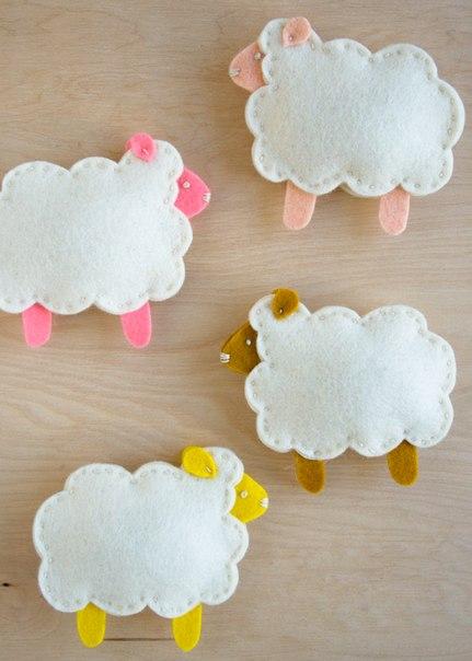 Мама для мам: Пальчиковые овечки