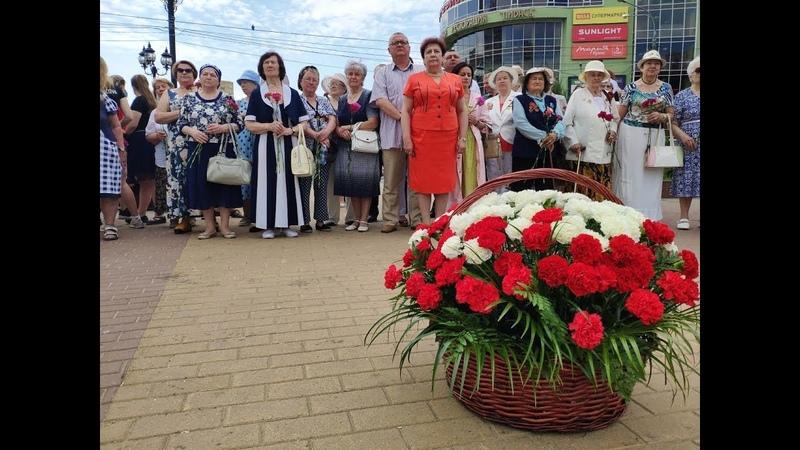 День памяти и скорби, митинг в Пушкино