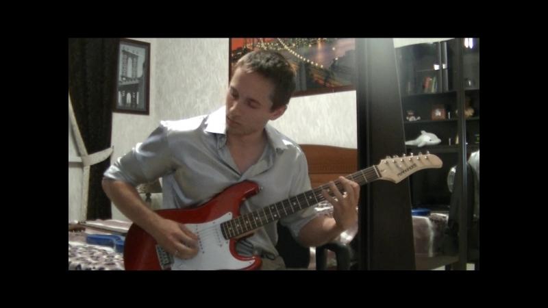 Yngwie Malmsteen- Queen In Love (Rhythm Guitar Cover by Сергей Черенков)