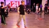 final kids 2x2 breakdance - bboy Slash &amp Slender vs Rap On The Head - Hip Hope Dance Battle 2018