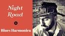 Night Road – Harmonica Blues - Background Music