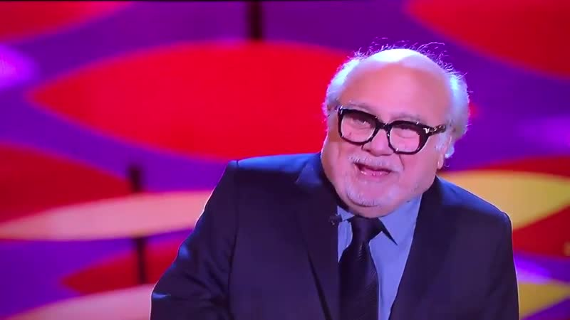 Legendary actor Danny DeVito at the National Television Awards in London tonight