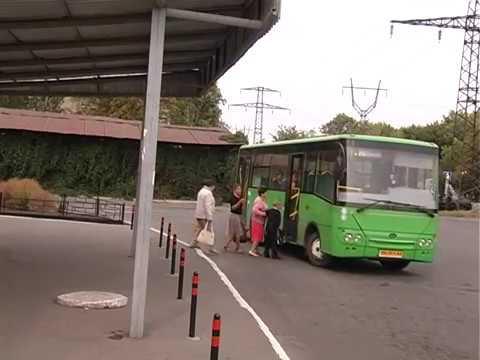 Изменение движения автотранспорта в районе автостанции
