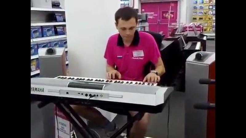Продавец жжёт real импровизация (синтезатор YAMAHA за 70 000 р.)