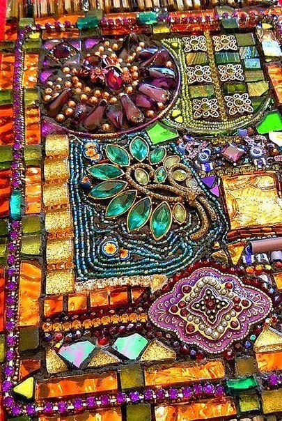 Потрясающая мозаика. (9 фото) - картинка