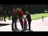 Путин возложил венок к Могиле Неизвестного Солдата в День памяти и скорби