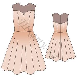 тряпиенс для выкройки платья