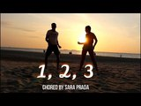 1, 2, 3 by Sofia Reyes choreo by Sara Prada dance ft Gonzi