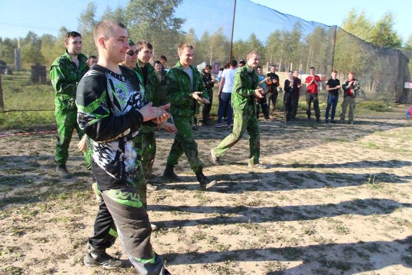 пейнтбольная игра - турнир Иваново