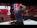 Randy Orton RKO on Brock Lesnar - Raw - August 1, 2016