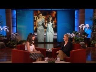 Zooey Deschanel is So Excited - The Ellen DeGeneres Show - 26 Сентября, 2013