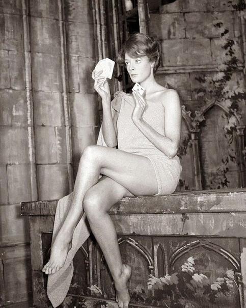 Актриса Мэгги Смит, Великобритания, 1960е.