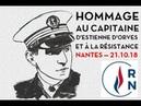 Gauthier Bouchet, Brigitte Nédélec et le RN44 rendent hommage à la Résistance — Nantes — 21.10.18