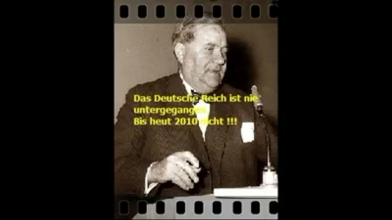 Carlo Schmid SPD 1948 - Deutsches Reich Existiert