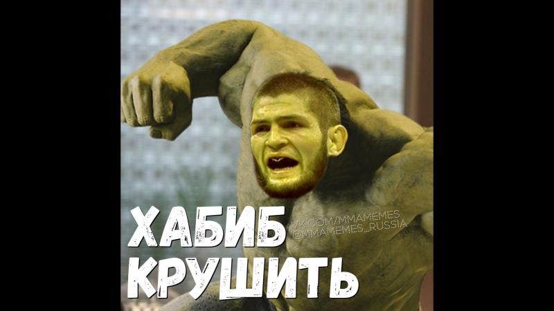 ХАБИБ ПРЕВРАТИЛСЯ В ХАЛКА НА UFC 229 MMAMEMES