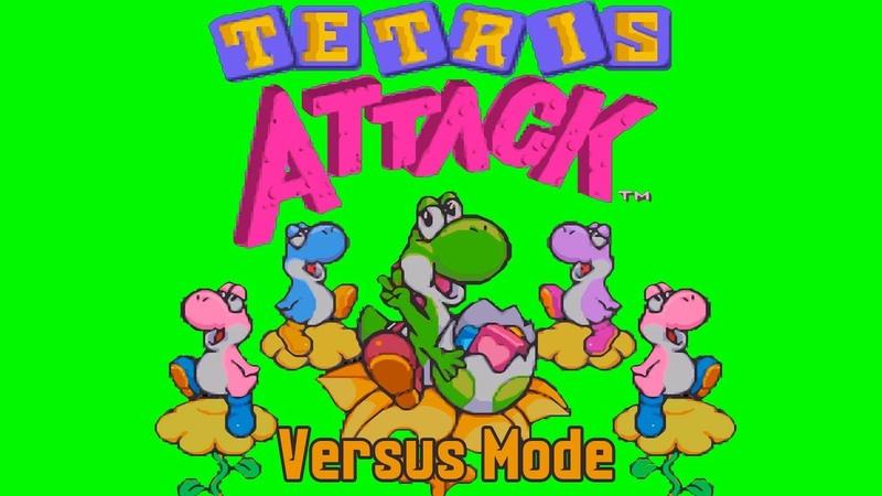 Tetris Attack - Versus Mode (SNESSuper Nintendo)