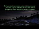 O Come All Ye Faithful Adeste Fideles Italian,English and Latin (Christmas Carol