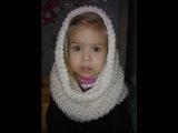 Как связать шарф снуд крючком - видео урок | Uroki-online.com