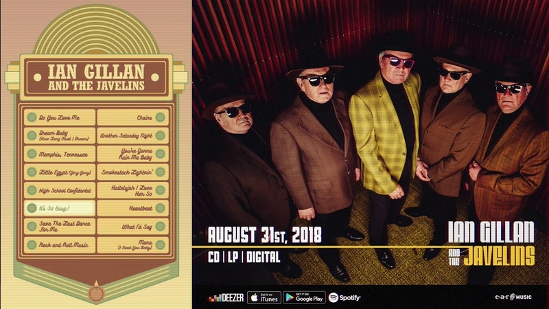 Ian Gillan The Javelins Juke Box - album out August 31st, 2018