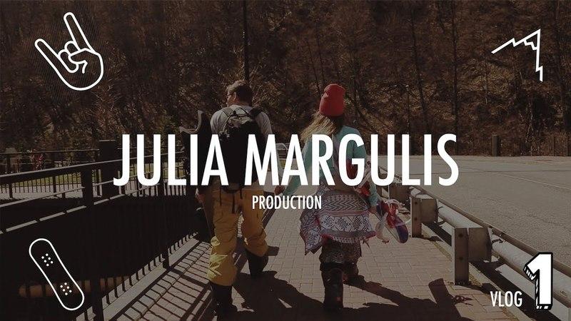 Юлия Маргулис - Покоряем горные вершины. Сочи - Роза Хутор. Влог №1